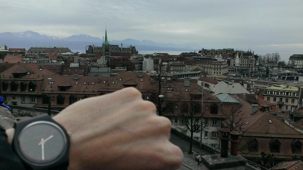 Vue sur Lausanne